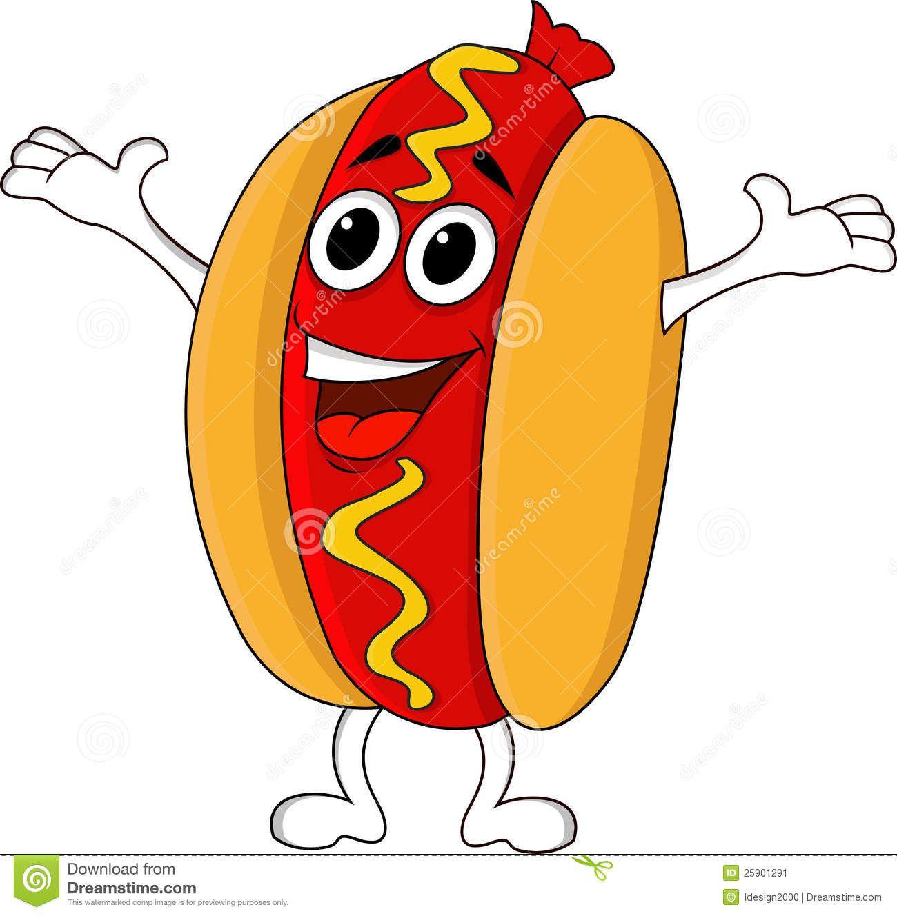 animated hot dog.