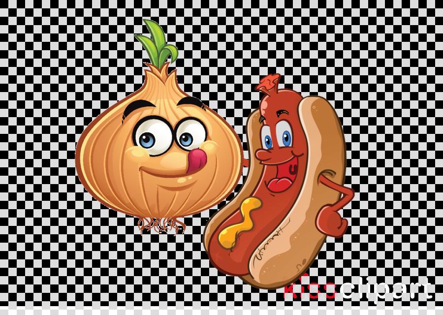 Hot Dog Clipart Free Cartoon.