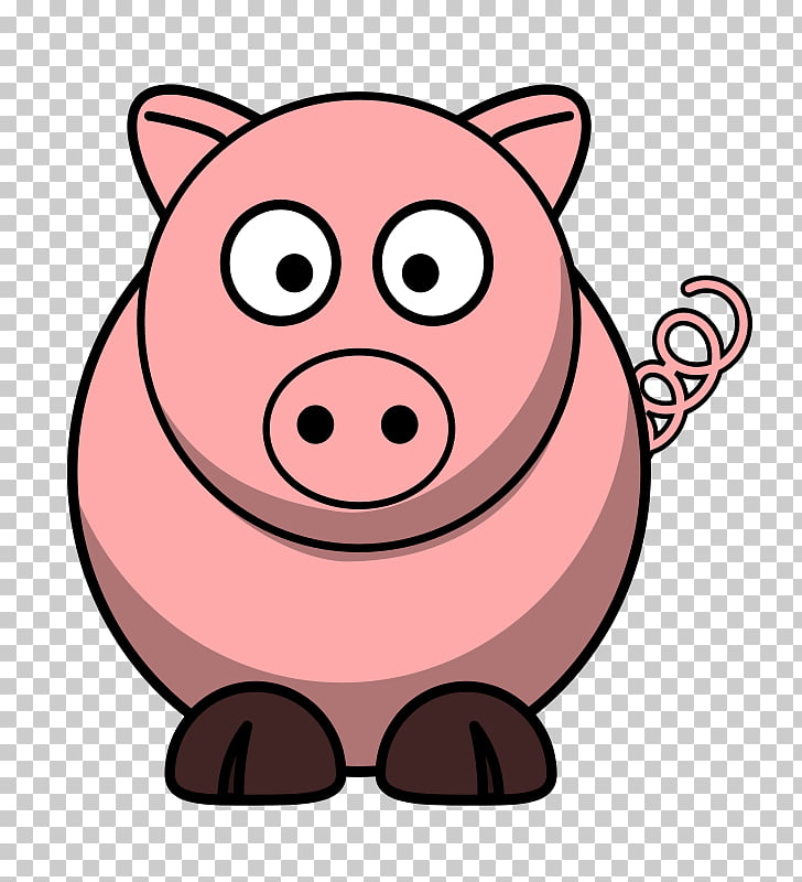 Domestic pig Free content , Free Pig PNG clipart.