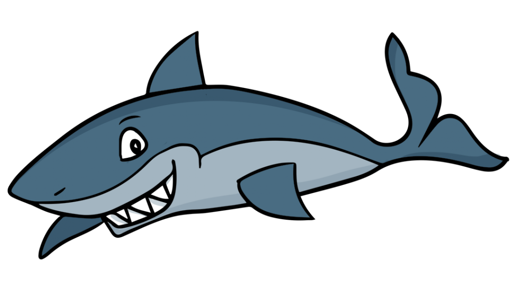 389 Sharks free clipart.