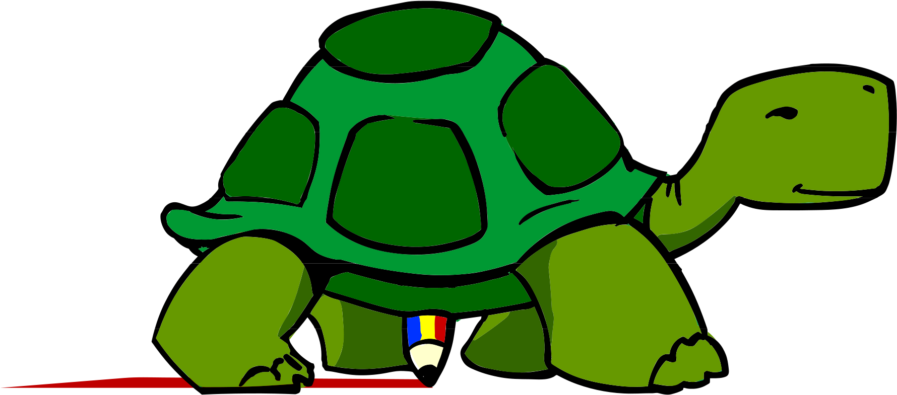 Collection Of Picture Of A Cartoon Turtle.