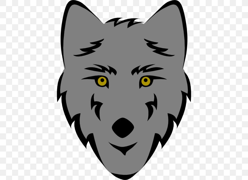 Gray Wolf Free Content Clip Art, PNG, 444x594px, Gray Wolf.