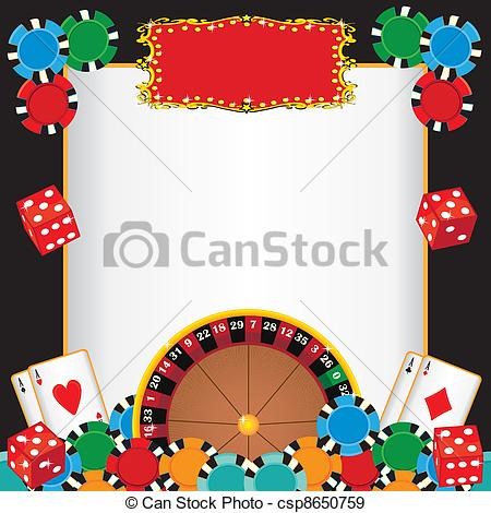 Casino clipart border, Casino border Transparent FREE for.