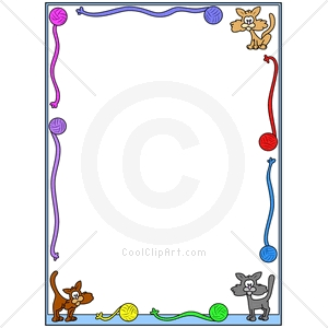 Cat clipart borders, Cat borders Transparent FREE for.