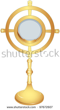 Monstrance Stock Images, Royalty.