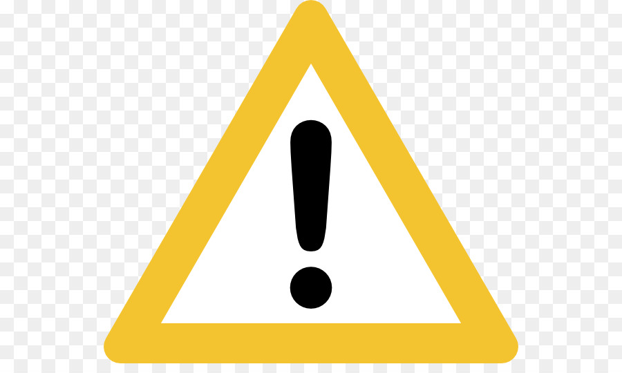 Warning Sign Triangle png download.