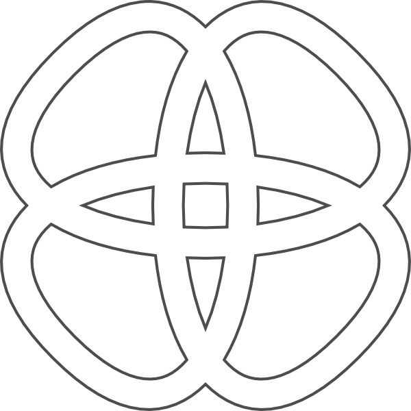 Celtic Knots clip art Free vector in Open office drawing svg.