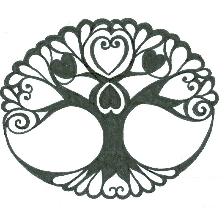 Watch more like Celtic Tree Of Life Stencil.