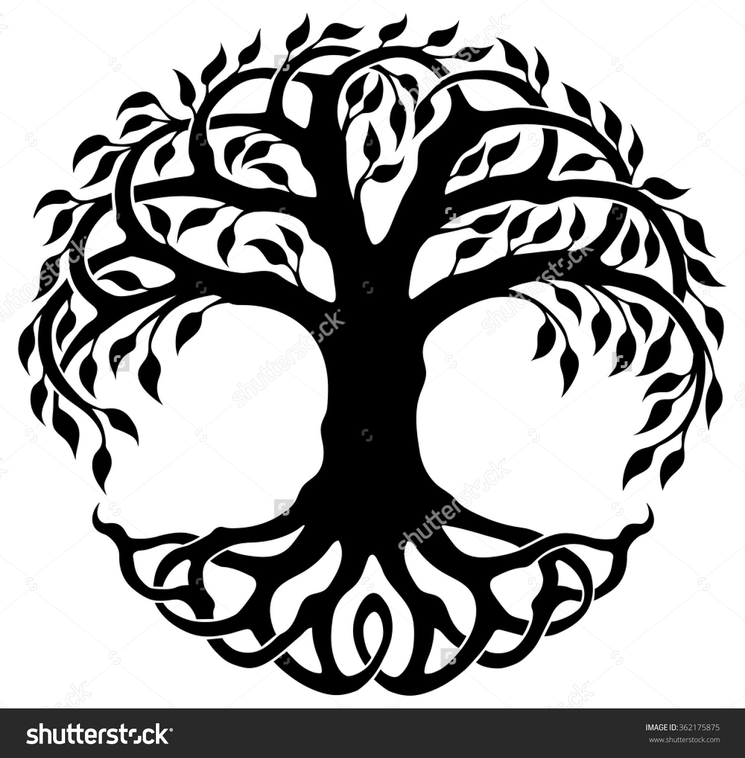 Celtic Tree Of Life Clipart.