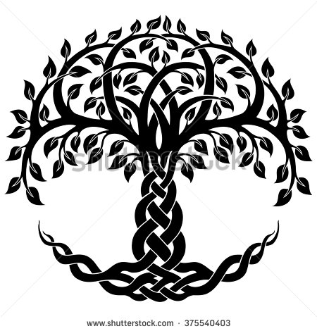 free celtic tree of life clipart - Clipground