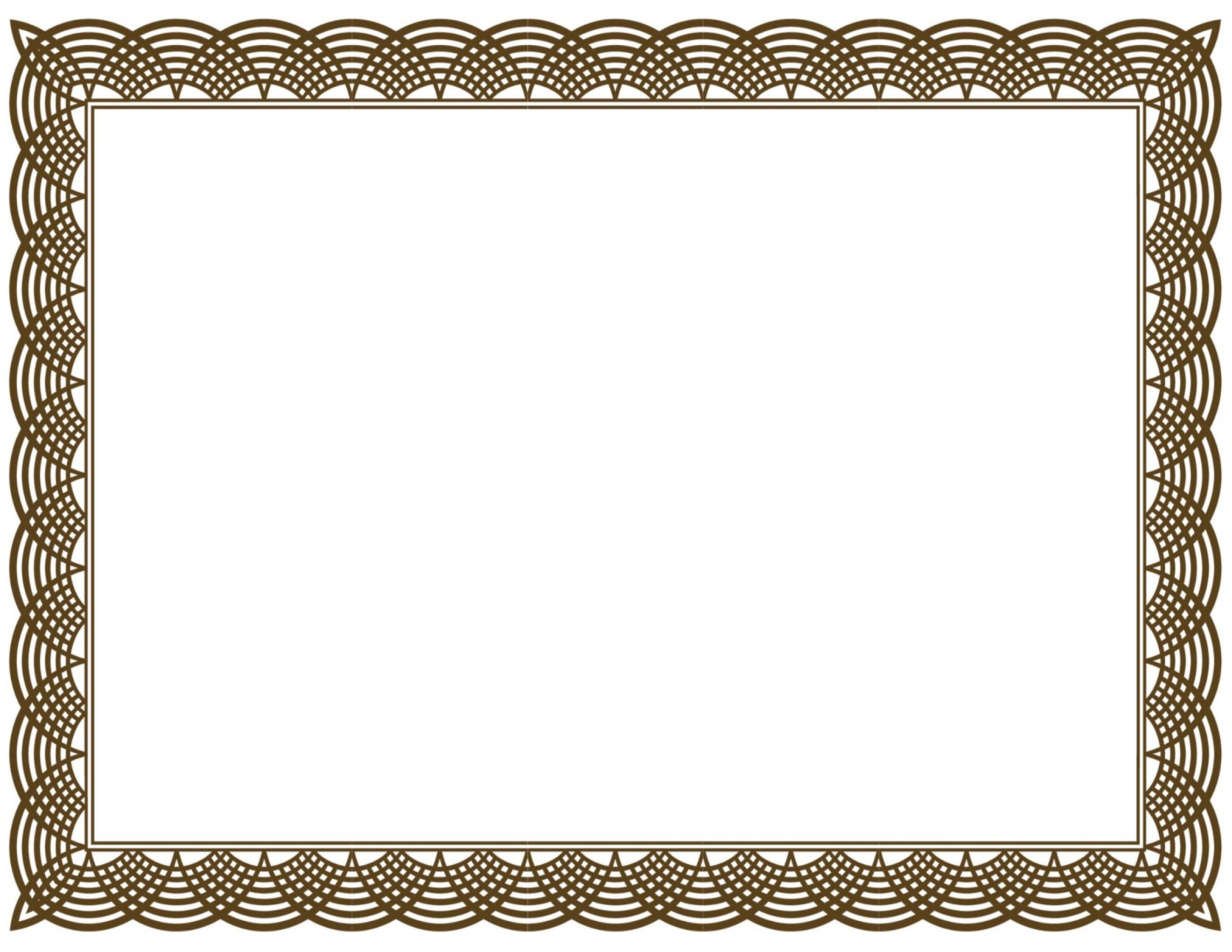 Free Vector Certificate Border Clip Art Layout Vectorealy.