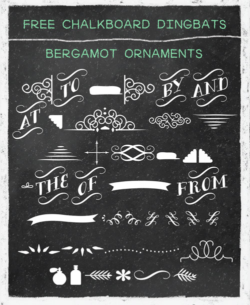 Free Chalkboard Fonts and Resources.