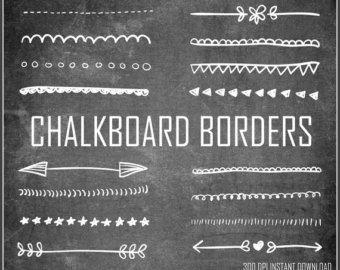 free chalkboard dingbats.
