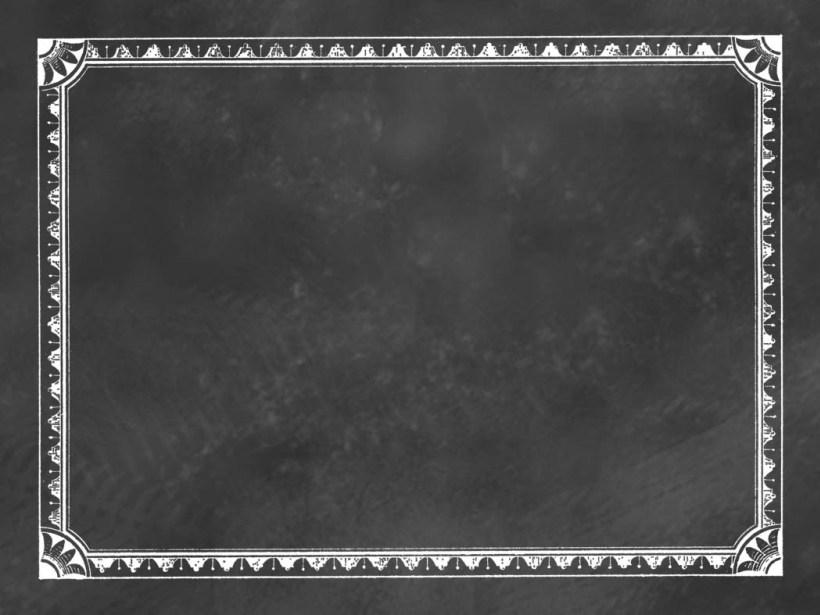 Free Chalkboard Frames Clipart.