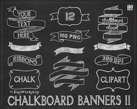 Free Chalkboard Banner Png, Download Free Clip Art, Free.