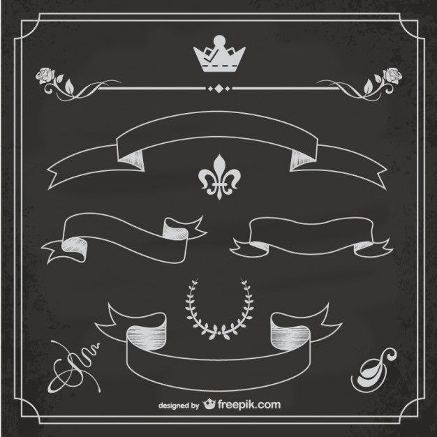 Chalkboard chalk vectors photos and psd files free download cliparts.
