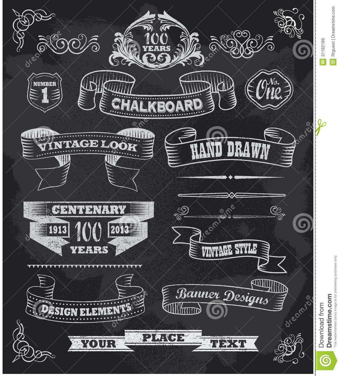 35+ Free Chalkboard Clipart.