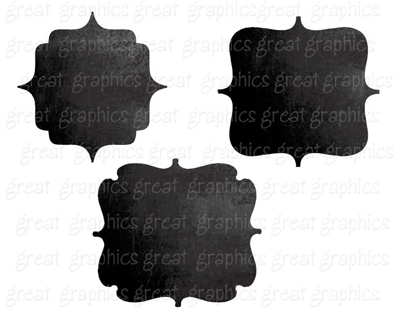 Chalkboard Frame Clip Art Free.