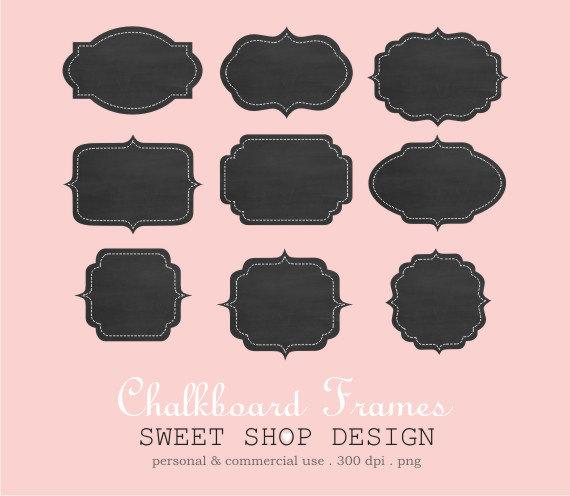 Chalkboard Frame Clipart Free.