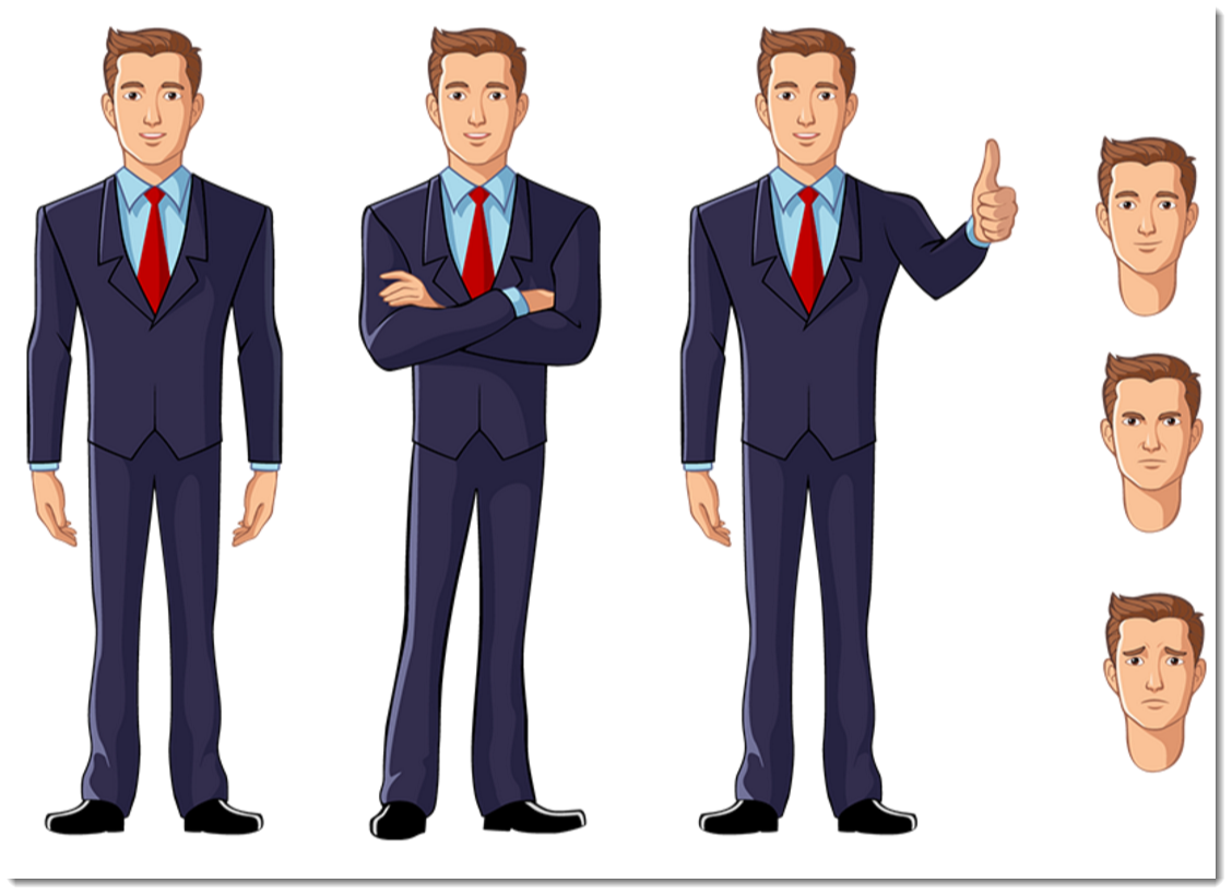 Download Free png Free eLearning Illustrated Characters.