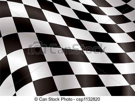 checkered flag bellow.