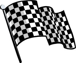 Free Checkered Flag Clipart.