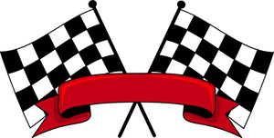 Free Checkered Flag Clipart.