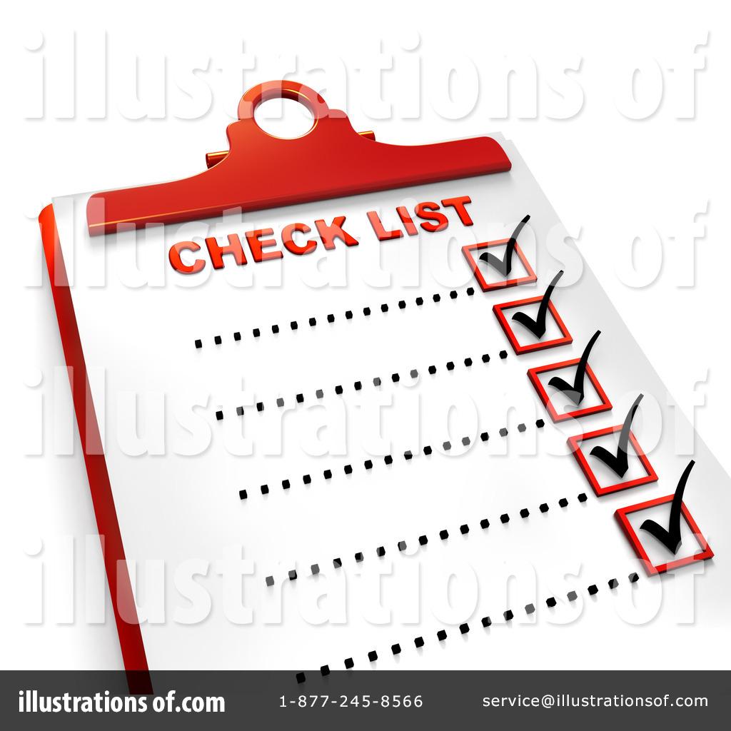Check List Clipart #437161.