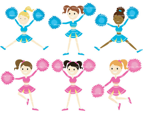 Cheerleading Clipart Images Free.
