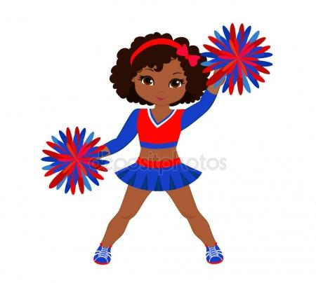 Cheerleading Pom Poms Clipart.