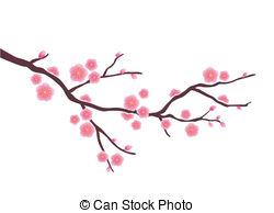 855 Cherry Blossom free clipart.