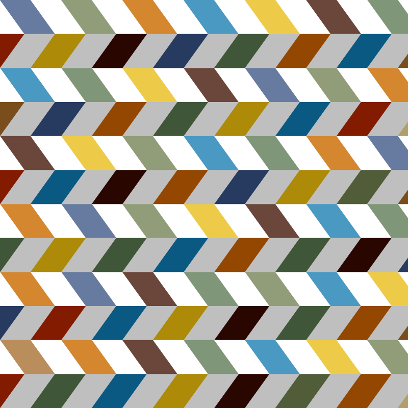 Colorful Zigzag Chevron Vector Background.