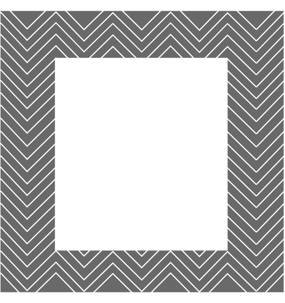 Grey Chevron Pattern Border Clip Art at Clker.com.