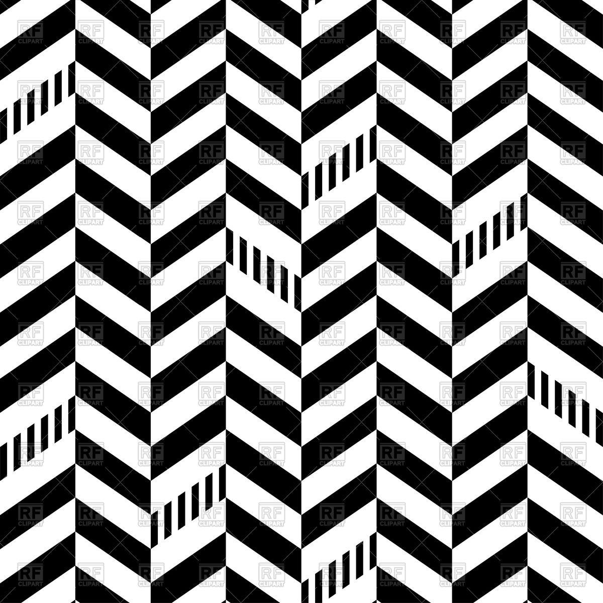 Classic seamless chevron pattern Stock Vector Image.