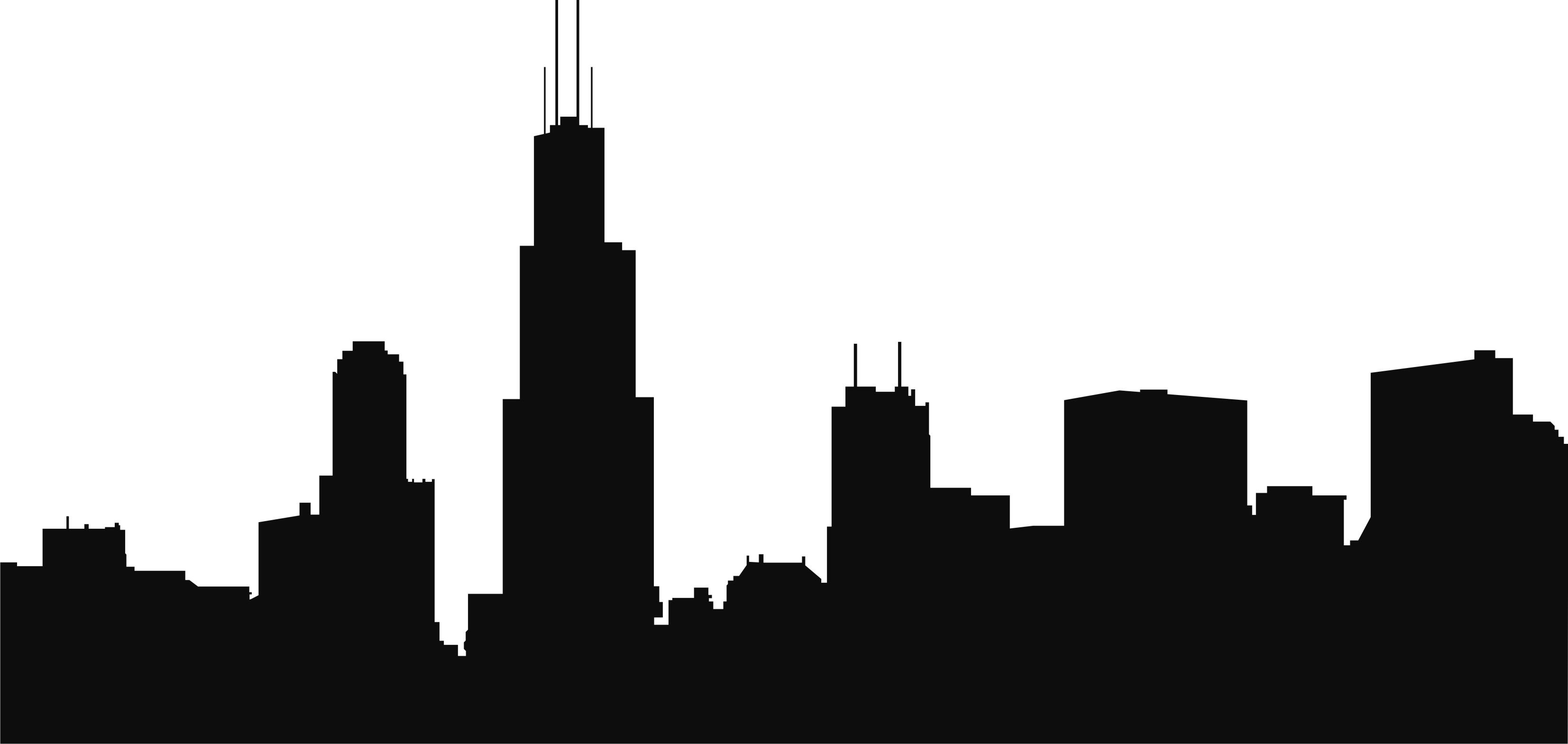 Clipart Of Chicago Skyline.