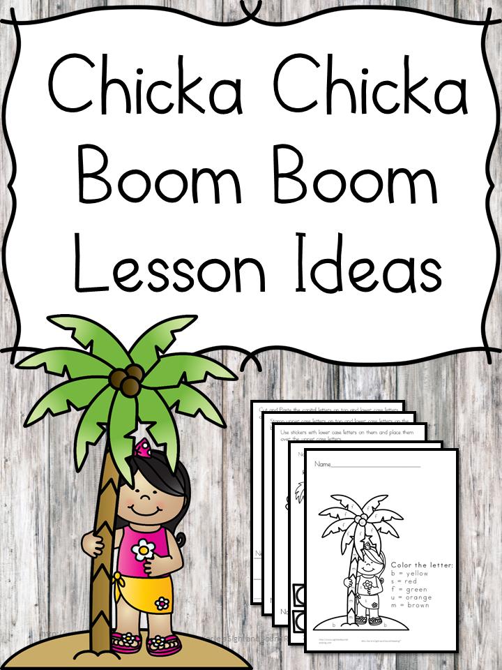 Chicka Chicka Boom Boom Lesson.