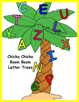 Chicka Chicka Boom Boom Coloring Tree Worksheets & Teaching.