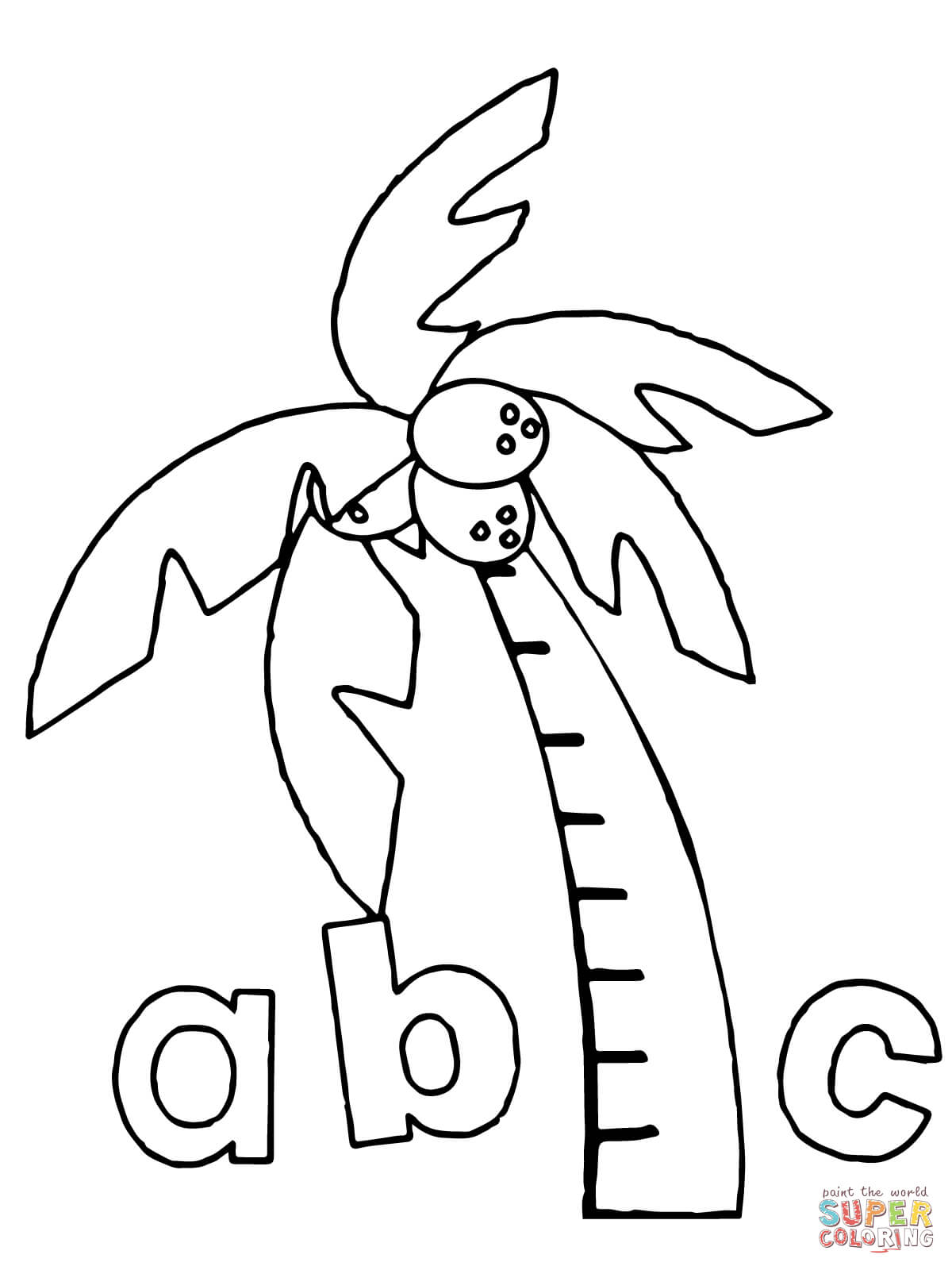 Free Chicka Chicka Boom Boom Coloring Pages, Download Free.
