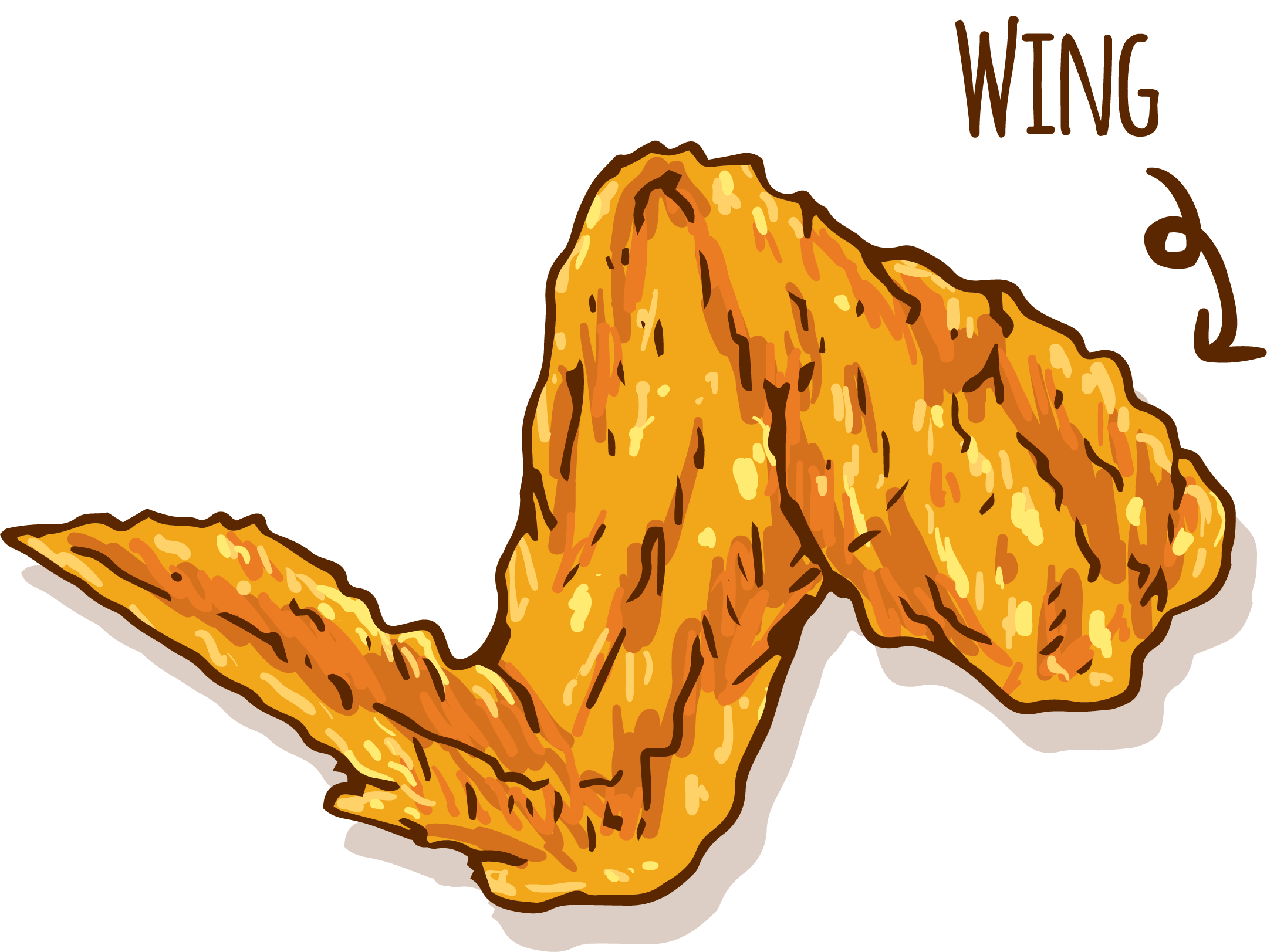 Chicken wings clipart clipart images gallery for free download.
