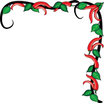 Chilli pepper border clipart images gallery for free download.