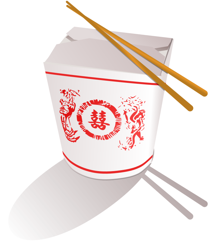 Free Clipart: Chinese Fast Food.