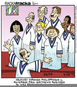 Preaching To The Choir Clipart.