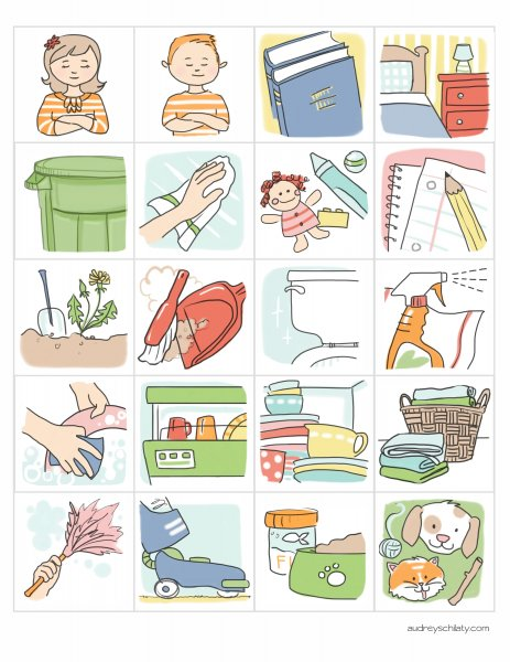 Chores clip art printable pictures and free printable on 2.