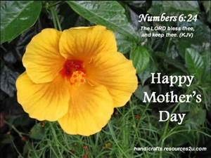 Religious Mother Day Clip Art.