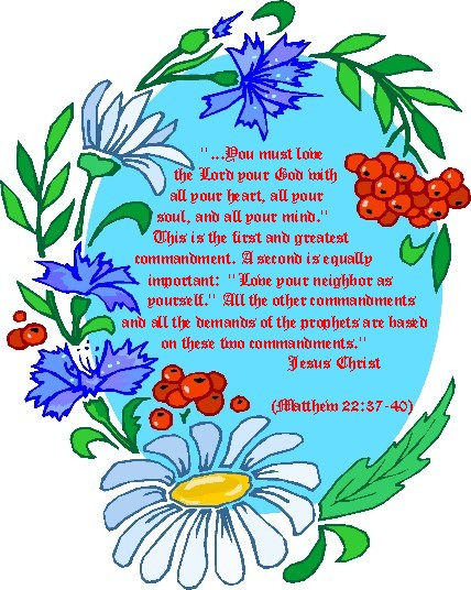 Free Scripture Clipart.