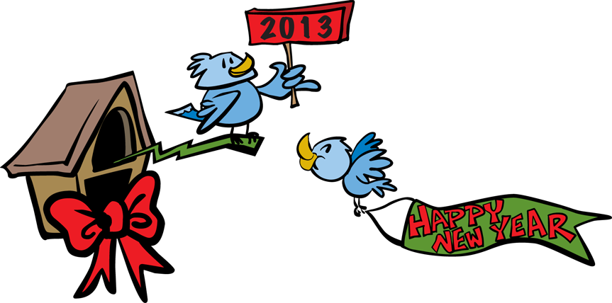 New Year 2013 Clip Art.