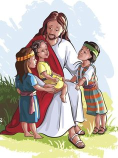 Jesus and the Children Preschool Theme. Lots of multi.