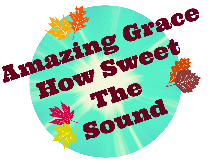 Christian Images In My Treasure Box Amazing Grace Fall clipart free.