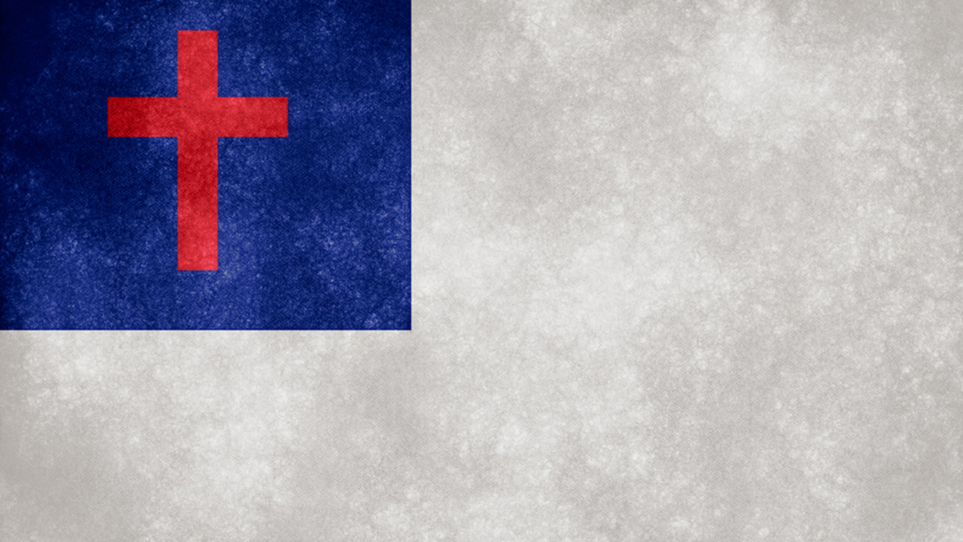 Showing post & media for Christian flag symbols.