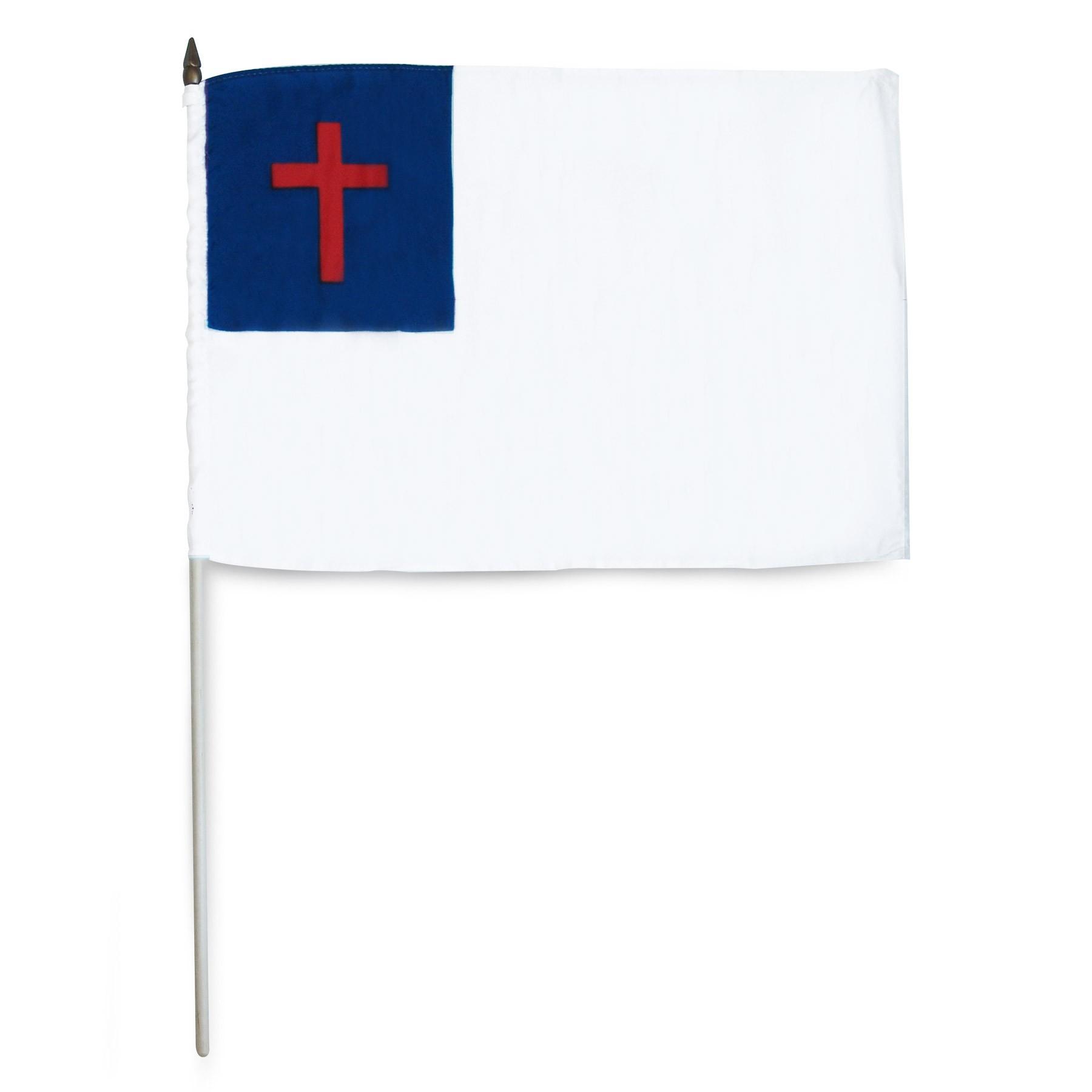 Free Christian Flag Clipart.